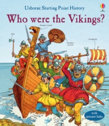 Who Were the Vikings?, Hardback Book
