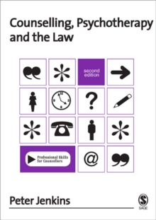 Counselling, Psychotherapy and the Law, Paperback