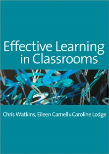 Effective Learning in Classrooms, Paperback