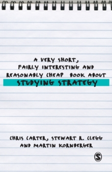 A Very Short, Fairly Interesting and Reasonably Cheap Book About Studying Strategy, Paperback