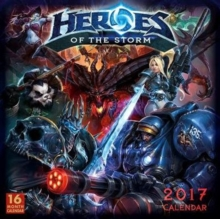 HEROES OF THE STORM 2017 WALL CALENDAR,