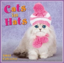 CATS IN HATS 2017 MINI WALL CALENDAR,