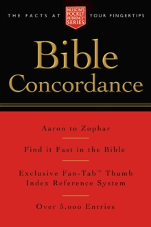 Pocket Bible Concordance : Nelson's Pocket Reference Series, Paperback Book