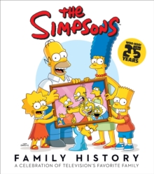 The Simpsons Family History, Hardback Book