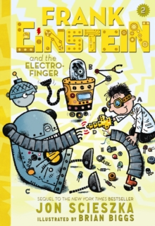Frank Einstein and the Electro-Finger, Paperback Book