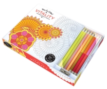 Vive le Color! Vitality (Coloring Book and Pencils) : Color Therapy Kit, Kit