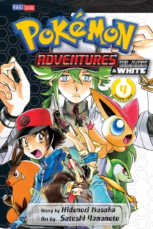 Pokemon Adventures Black & White, Paperback