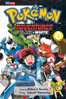 Pokemon Adventures Black & White, Paperback Book
