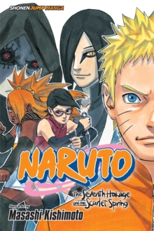 The Naruto: The Seventh Hokage and the Scarlet Spring, Paperback Book