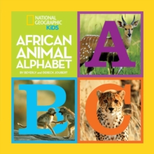 African Animal Alphabet, Hardback Book