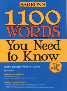 1100 Words You Need to Know, Paperback