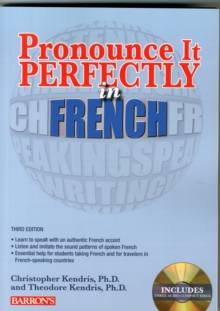 Pronounce it Perfectly in French, Mixed media product Book
