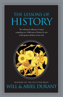 The Lessons of History, Paperback Book