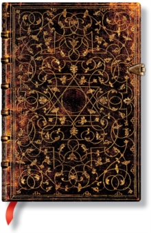 GROLIER ORNAMENTALI MIDI LINED JOURNAL, Hardback