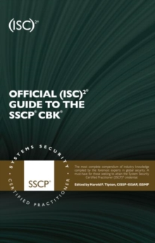 Official (ISC)2 Guide to the SSCP CBK, Hardback