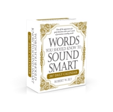 Words You Should Know to Sound Smart 2017 Daily Calendar, Calendar
