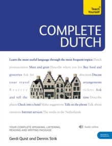 Complete Dutch Beginner to Intermediate Course : (Book and Audio Support), Mixed media product Book