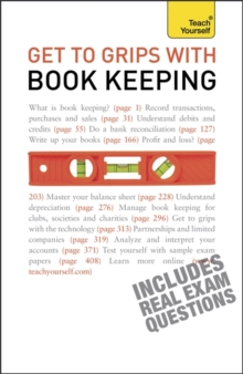 Get to Grips with Book Keeping: Teach Yourself, Paperback