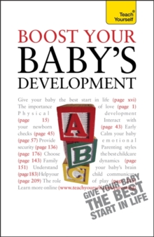 Boost Your Baby's Development: Teach Yourself, Paperback Book