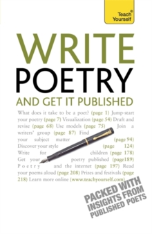 Write Poetry and Get it Published: Teach Yourself, Paperback