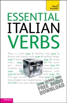Essential Italian Verbs: Teach Yourself, Paperback