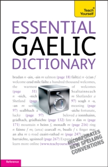 Essential Gaelic Dictionary: Teach Yourself, Paperback