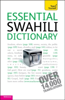 Essential Swahili Dictionary: Teach Yourself : Swahili-English English-Swahili, Paperback