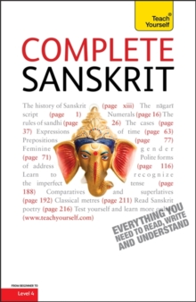 Complete Sanskrit : Learn to Read, Write, Speak and Understand a New Language with Teach Yourself, Paperback