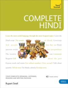 Complete Hindi Beginner to Intermediate Course : (Book and Audio Support) Learn to Read, Write, Speak and Understand a New Language with Teach Yourself, Mixed media product