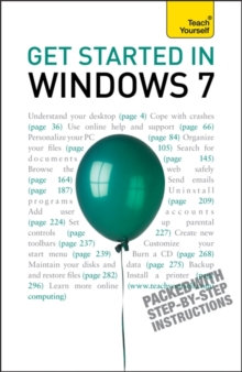 Get Started in Windows 7: Teach Yourself, Paperback