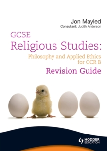 GCSE Religious Studies : Philosophy and Applied Ethics Revision Guide for OCR B, Paperback
