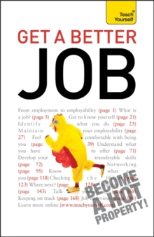 Get A Better Job: Teach Yourself, Paperback Book