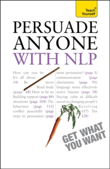 Persuade Anyone : With NLP, Paperback Book