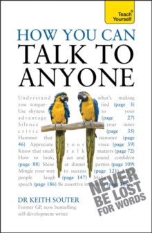How You Can Talk to Anyone: Teach Yourself : What to Say When You're Tongue-Tied and Terrified, Paperback
