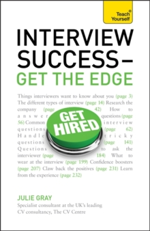 Interview Success - Get the Edge: Teach Yourself : Get the Edge, Paperback Book