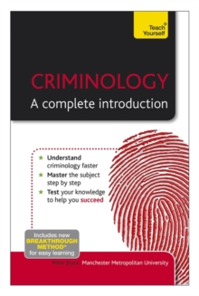 Criminology - A Complete Introduction: Teach Yourself, Paperback Book
