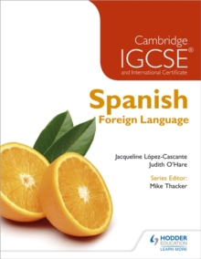 Cambridge IGCSE(R) and International Certificate Spanish Foreign Language, Paperback