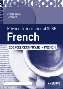 Edexcel International GCSE and Certificate French Grammar Workbook, Paperback