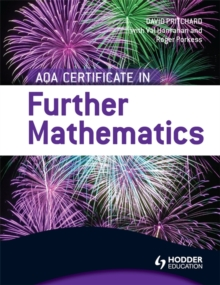 AQA Certificate in Further Mathematics, Paperback Book