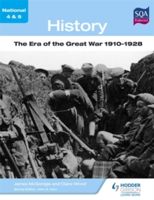 History: The Era of the Great War 1910-1928, Paperback