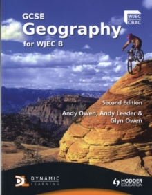 GCSE Geography for WJEC B, Paperback Book