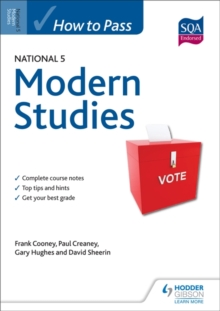 How to Pass National 5 Modern Studies, Paperback Book