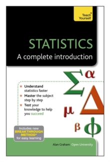 Statistics - A Complete Introduction: Teach Yourself, Paperback