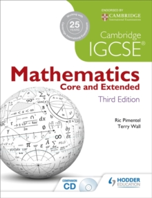 Cambridge IGCSE Mathematics Core and Extended, Paperback