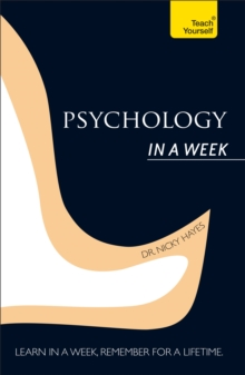 Psychology in A Week: Teach Yourself, Paperback