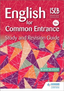 English for Common Entrance Study and Revision Guide, Paperback