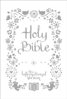 NIV Tiny White Christening Bible, Hardback