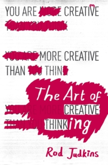 The Art of Creative Thinking, Paperback Book
