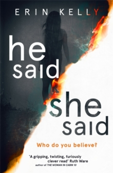 He Said/She Said, Hardback Book