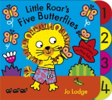 Little Roar's Five Butterflies, Board book